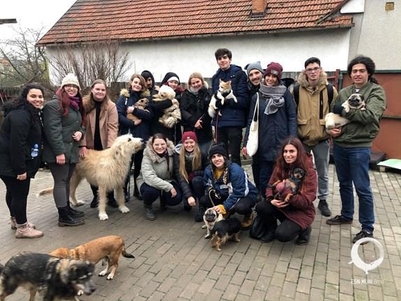 Social Erasmus event with ESN MUNI