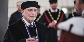 John Paul Giesy received the honorary doctorate from MUNI