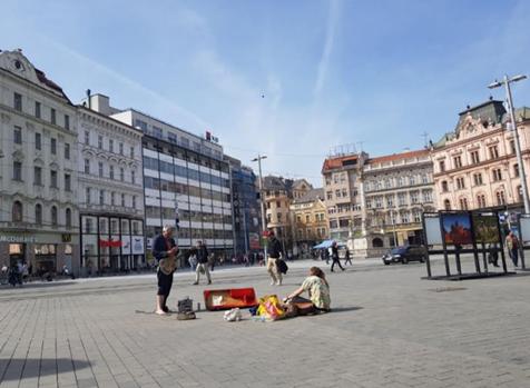 Náměstí Svobody in Brno-Centrum