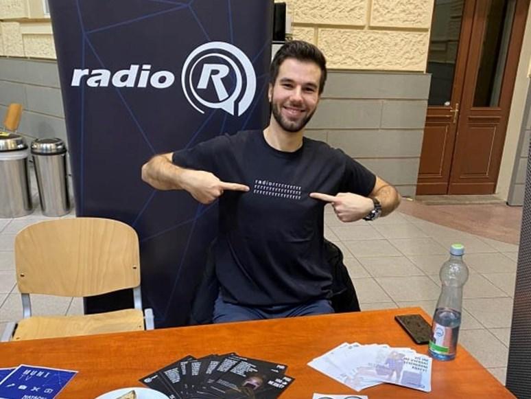 Jan Mazáč má na Radiu R program 5 plus 5. Foto: archiv Jana Mazáče