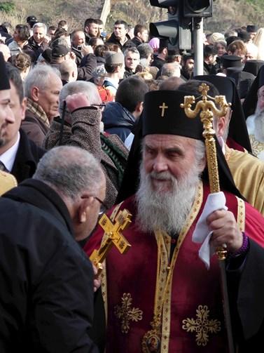 Patriarcha Irinej, hlava Srbské pravoslavné církve. Foto: Micki, Wikimedia Commons, CC BY-SA 3.0