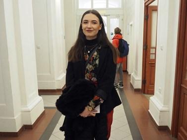 Karolína Janičíková se zajímá o studium žurnalistiky. Foto: Radka Rybnikárová