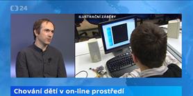 Studio ČT24: Rozhovor sDavidem Šmahelem