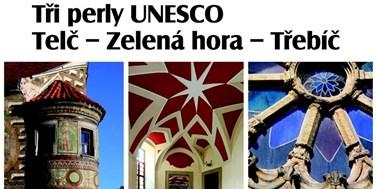 Výstava Tři perly UNESCO zahájí Masarykovy dny na Univerzitním centru v Telči