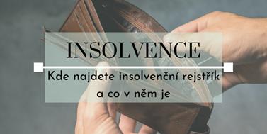 Seriál o insolvencích: Kde najdete insolvenční rejstřík a co v něm je