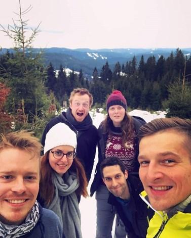 Členové Proactive Mind jsou pro Sitarovou nejen kolegové, ale také dobří kamarádi. Foto: archiv Lucie Sitarové