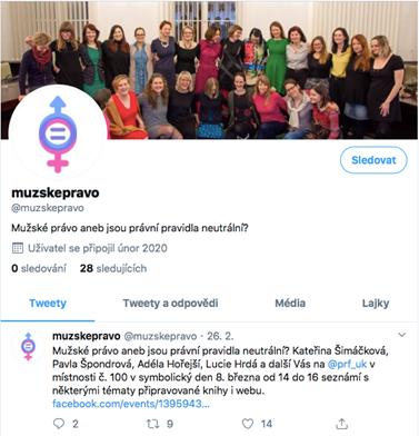 Twitterový účet @muzskepravo spravuje autor populárních příspěvků IuriumDaily Martin Kopa