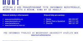 Masarykova univerzita zřídila centrum dobrovolné  pomoci