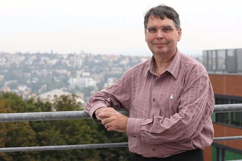 Garant studie prof. MUDr. Vojtěch Thon, PhD. (Foto: Deník/Attila Racek)
