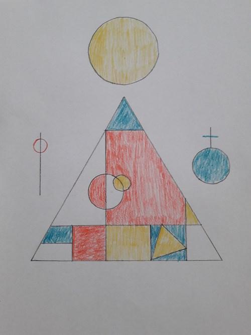 Piet Mondrian: Kompozice v červené, modré a žluté