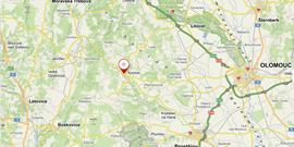 Slabé zemětřesení u Konice 31. 3. 2020