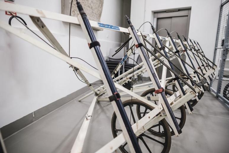 Desetisondový magnetometr. Foto: Masarykova univerzita