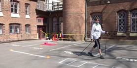 Díl 2. NORDIC WALKING - nácvik základní techniky chůze s holemi