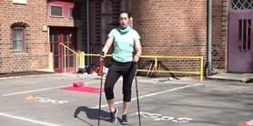 Díl 3. NORDIC WALKING a cvičení s holemi
