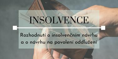 Seriál o insolvencích: Rozhodnutí o insolvenčním návrhu a o návrhu na povolení oddlužení