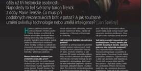 časopis Computer -  ROZHOVOR O DIGITÁLNÍ REKONSTRUKCI ATD.