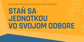 Přihlaste se na stáž v Národní radě Slovenské republiky