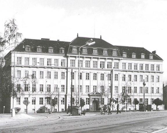 Pedagogická fakulta v 60. letech 20. stol.