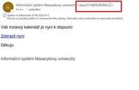 Ukázka podvodného e-mailu.