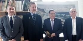 Velvyslanec Chilské republiky v ČR navštívil naši fakultu