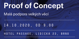 Save the date: Konference Proof of concept přesunuta na říjen