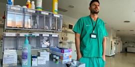 MUNI graduate: Spanish hospitals were like a warzone