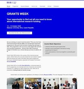 Grants Week