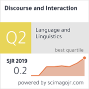 Odkaz na Scimago Ranking Discourse and Interaction