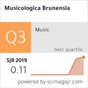 Odkaz na Scimago Ranking Musicologica Brunensia