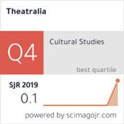 Odkaz na Scimago Ranking Theatralia