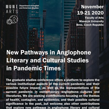 New Pathways in Anglophone Literary and Cultural Studies in Pandemic Times