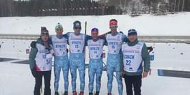 Biatlonisté vezou zKrasnojarsku medaile
