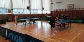 Valentýnský turnaj ve stolním tenise