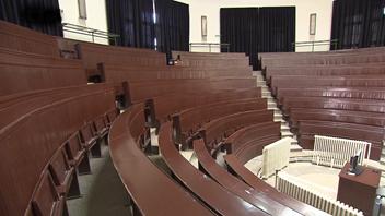 Historické auditorium maximum MU, současný stav