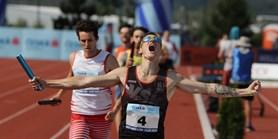 Student Martin běžel pro vítězství