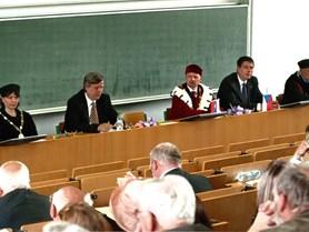 Konference k 20. výročí založení fakulty.