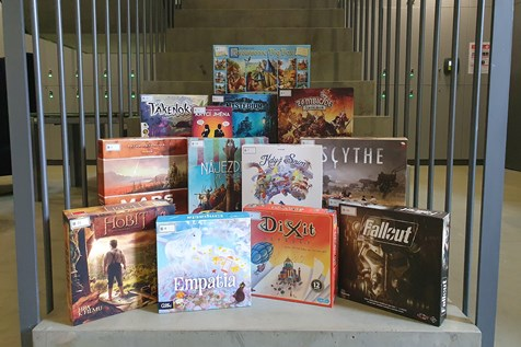 Showcase of available board games
