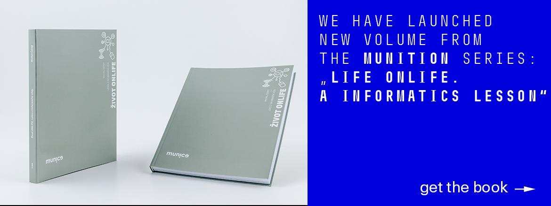 New on sale: Život onlife