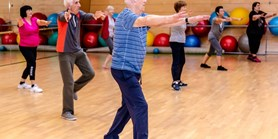 The elderly are physically active even during the time of pandemic