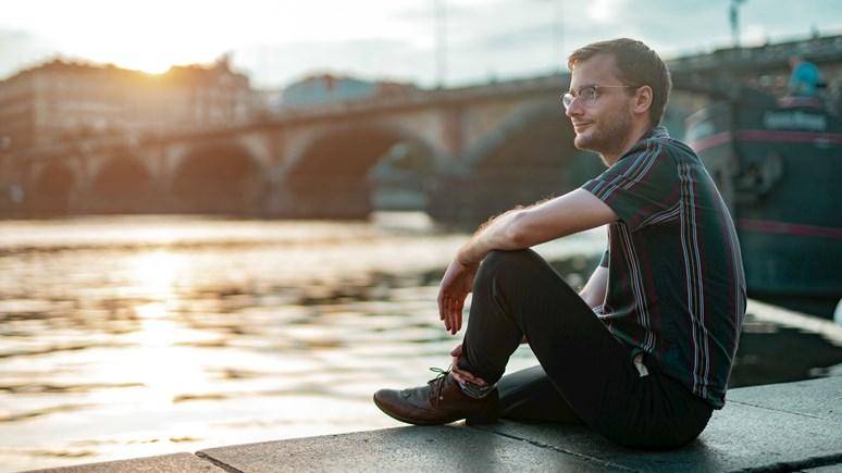 Aktuálně Filip Šebok pobývá v Praze. Foto: Jiří Mucha