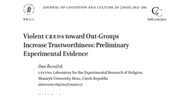Intergroup violence and trustworthiness
