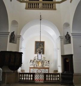 Buchlov, kaple sv. Barbory