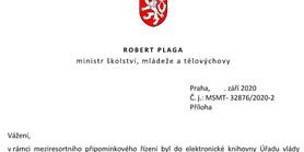 Stanovisko reprezentantů akademické obce k návrhům na změny vyhlášky č. 27/2016 Sb