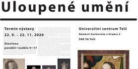 Pozvánka do Telče na výstavu o uloupeném dědictví