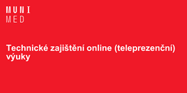 Technické zajištění online (teleprezenční) výuky
