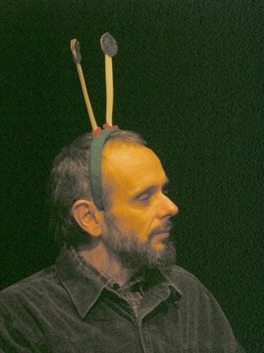 Mojmír Vlašín hraje ve svých vlastních divadelních hrách. Foto: Ekologický institut Veronica