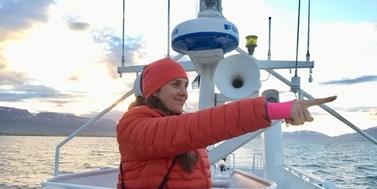 Video rozhovor s Barborou Padrtovou o Arktidě a klimatické změně