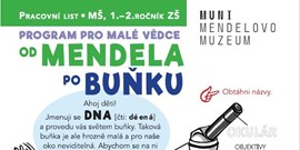Od Mendela po buňku