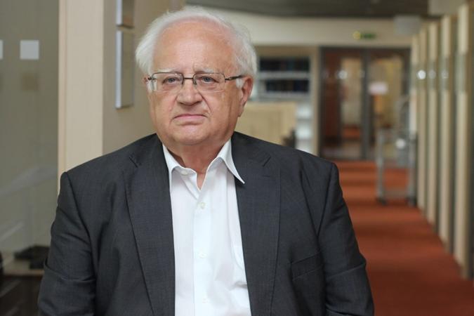 Eduard Fuchs zÚstavu matematiky a statistiky je snaší fakultou spojen od roku 1960, kdy zde začal studovat. Foto: Antonín Reňák
