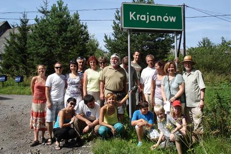 Výlet Slováckého divadla do Vambeřic a Krajanova
